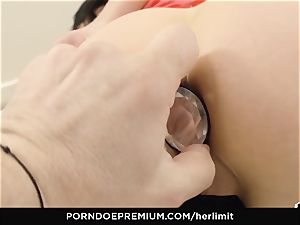 HER restrict - raunchy buttfuck and face plumb with Sasha Rose