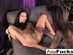 Asa and flesh penetrate each other's brains out