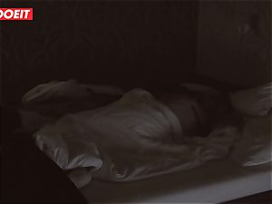 Russian babe gets professional intercourse to help her sleep