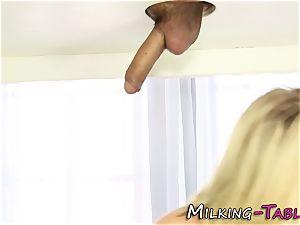small masseur stroking