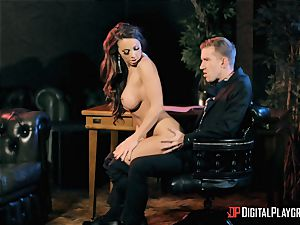 Abigail Mac takes on the monster knob of Danny D