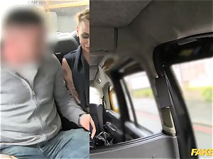 fake taxi petite lady in handsome undergarments