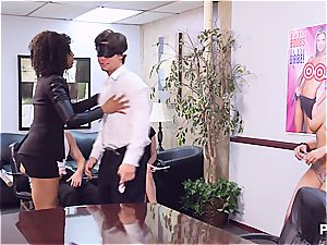 Getting naughty in the office part two