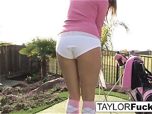 Taylor displays you her humungous melons