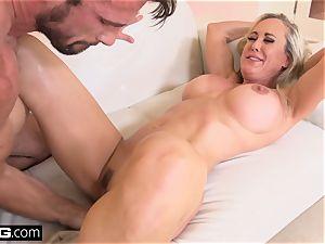 blasting Brandi enjoy likes having a meatpipe in her vulva