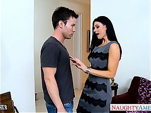 epic India Summer in tights gargles hard-on