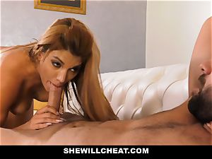 SheWillCheat - hot cuckold wife vengeance poking