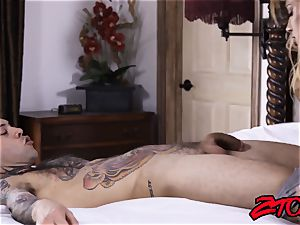 dick craving cougar Mercedes Carrera ate and fucked