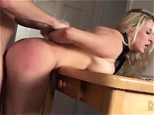 PASCALSSUBSLUTS - Victoria Summers fed spunk and domination & submission