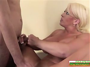 huge-chested mommy wants man juice from the youthful lollipop