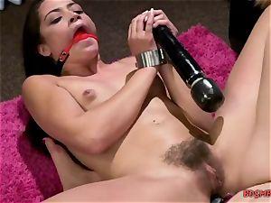 lesbos love xxx fuck-fest with cord on dildo