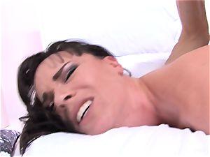 Dana gets her rump plumbed by Owen's hefty cock
