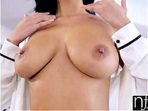 NF big-boobed - Anissa Kates ample boobs Make phat manhood cum