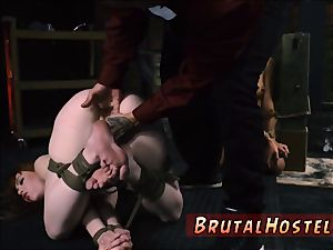 tutor bondage first-ever time cool youthful damsels, Alexa Nova and Kendall forest, take a