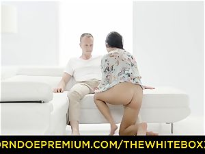 THE white BOXXX - mighty anal invasion porking for smallish honey