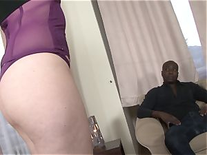 black boy bootie drilling My wife she blows a load and rails big black cock