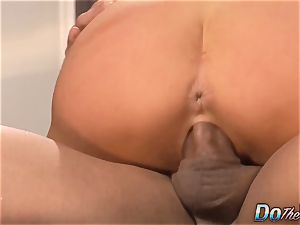 husband observes wifey Veronica Avluv splatter