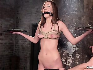 slave college girl butt flogged and poon poked