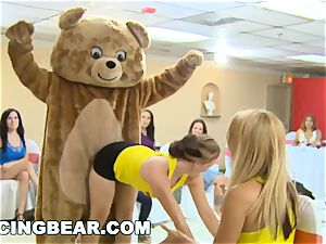 CFNM Bachelorette party with the hefty rod Dancing teddy