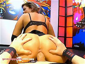 huge tits and jizm for luxurious Chloe La Moure