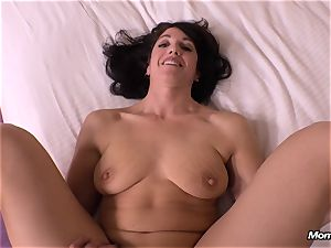 innocent brunette mummy cuckold creampie fantasy