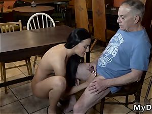 older damsel flick gonzo Can you trust your girlpatron leaving her alone with your dad?