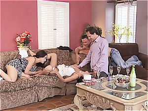gang lovemaking and Hangman with adorable couples two