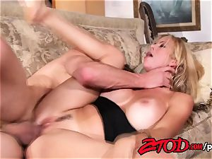 steamy milf Alexis Fawx beaten firm