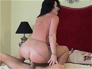 ultra-kinky hottie Jayden Jaymes luvs her husband but wants Johnny's manmeat