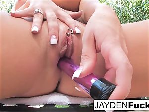 Jayden Jaymes sizzling solo