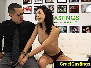 gorgeous Gina Valentina restricted and dominated