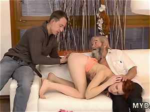 Sugar father unexpected experience with an elderly gentleman
