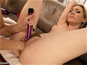 Blue Angel enjoy finger-tickling her naughty gf