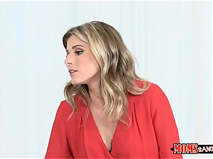 Cory chase has warm mind-blowing fuckbox action with her step daughter-in-law Sydney Cole