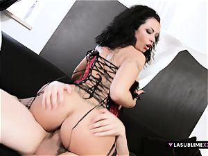 LASUBLIMEXXX Asia Morante needs meaty sausage in her fat arse