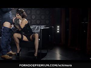 XCHIMERA - Amirah Adara puss creampie in fetish boink