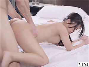 VIXEN young japanese student Has spunky hook-up With Neighbor