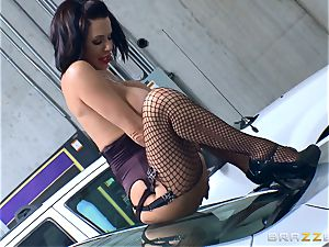 naughty mature Veronica Avluv arched over and drilled