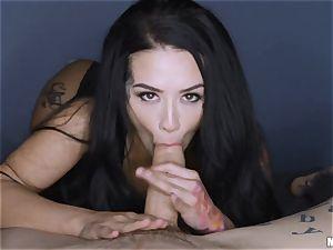 Katrina Jade pov cooch plow whilst eyes covered