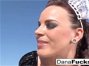 Dana the maid in a super-hot intercourse