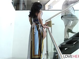 LoveHerFeet - Sneaky cheating foot fuck-fest With The Realtor