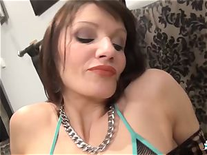 La Cochonne - Mature French fledgling likes ass going knuckle deep