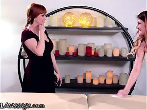 girly-girl nubile masseuse Adria Rae
