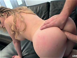 LiveGonzo Kagney Linn Karter stunning babe Getting fucked