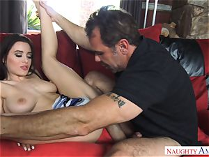 Lana Rhoades getting penetrated by a big shaft