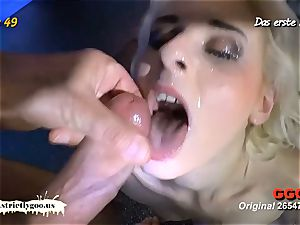bony ash-blonde pulverized rigid and creamed