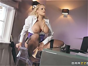 Angel Wicky rides Dannys ample D