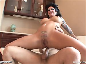 big-boobed crazy milf Mason Moore - blasting during ass-fuck hook-up