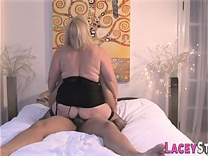 Lacey Starr Gets romped in wondrous ebony pantyhose
