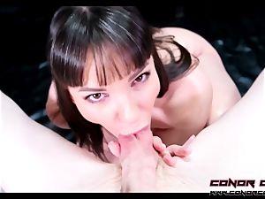 ConorCoxxx- yam-sized chisel cuckold suck off With Dana DeArmond